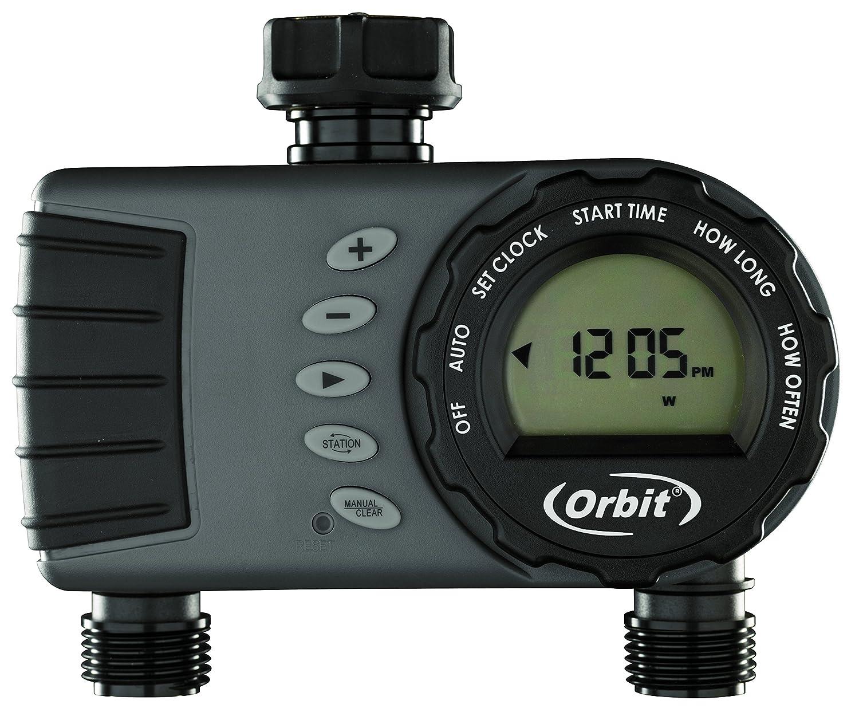 Orbit 96782 –  Programmierer fü r Wasserhahn, Digital, 2 salidas-hembra 3/4 ' 2 salidas-hembra 3/4  S&M 96782E