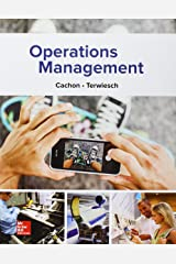 Operations Management + Connect Hardcover