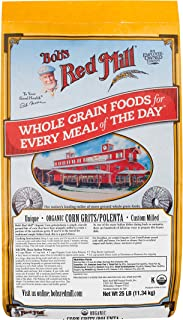 product image for Bob's Red Mill Organic Corn Grits/Polenta, 25 Pound