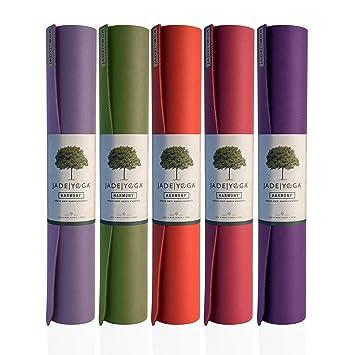 Jade Harmony Professional Yoga Mat 3 16 quot  (5mm x 173cm) Raspberry 995d03b78b2