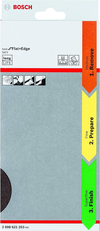 Bosch Professional 3tlg Schleifschwamm S471 Best For Flat And Edge Set Mittel Orange Fein Gelb Superfein Grün Zubehör Handschleifen Baumarkt