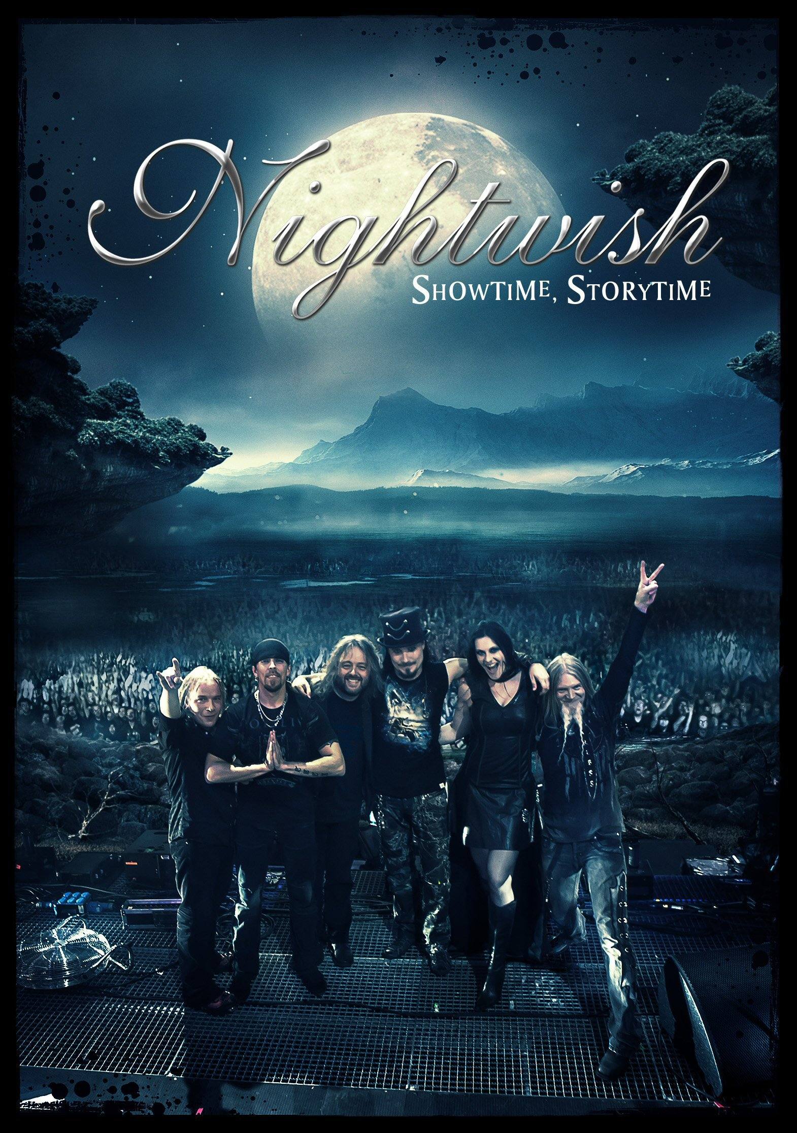 CD : Nightwish - Showtime, Storytime (With Blu-Ray, 4 Disc)