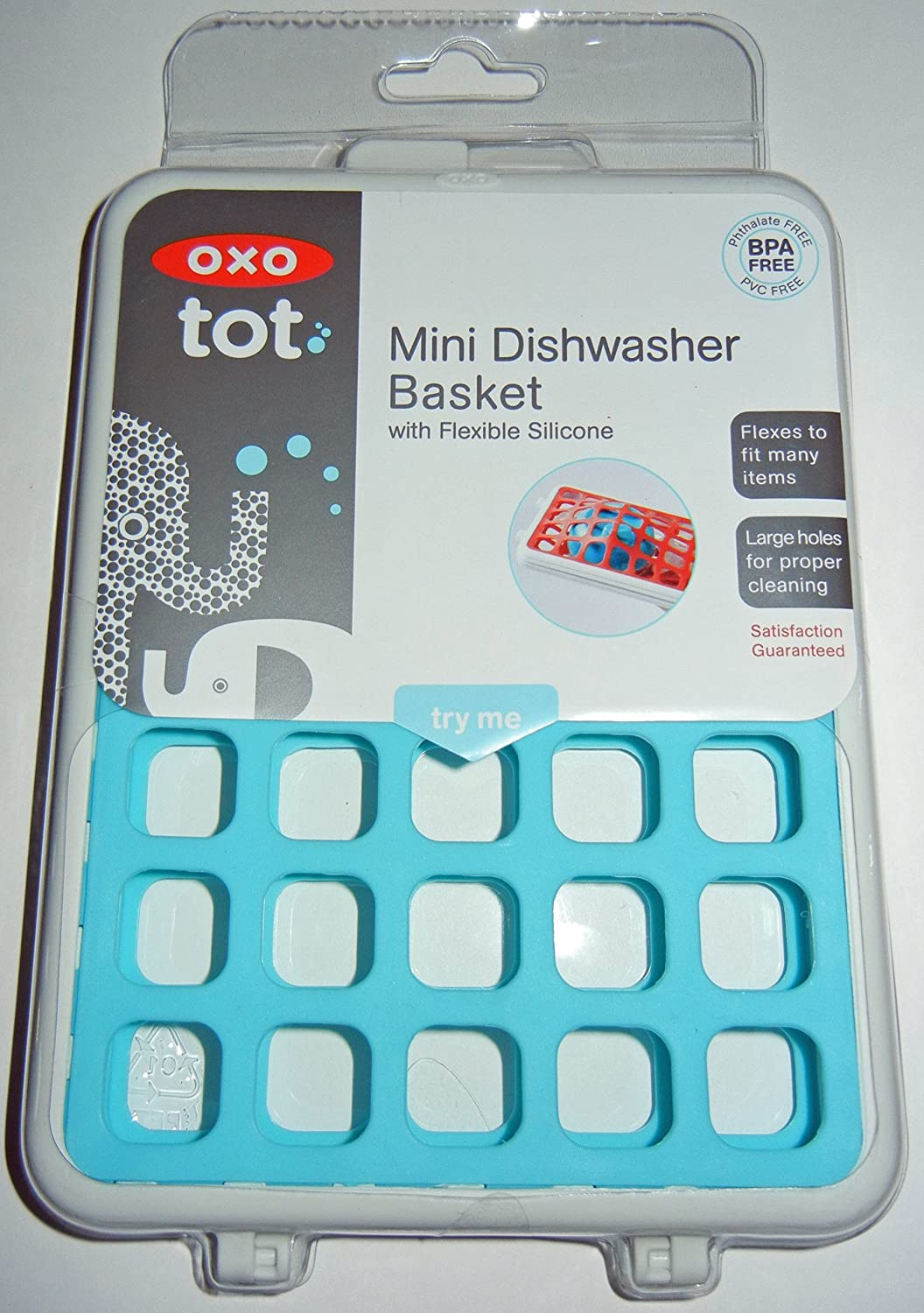 amazoncom oxo tot mini dishwasher basket aqua baby bottle supplies baby