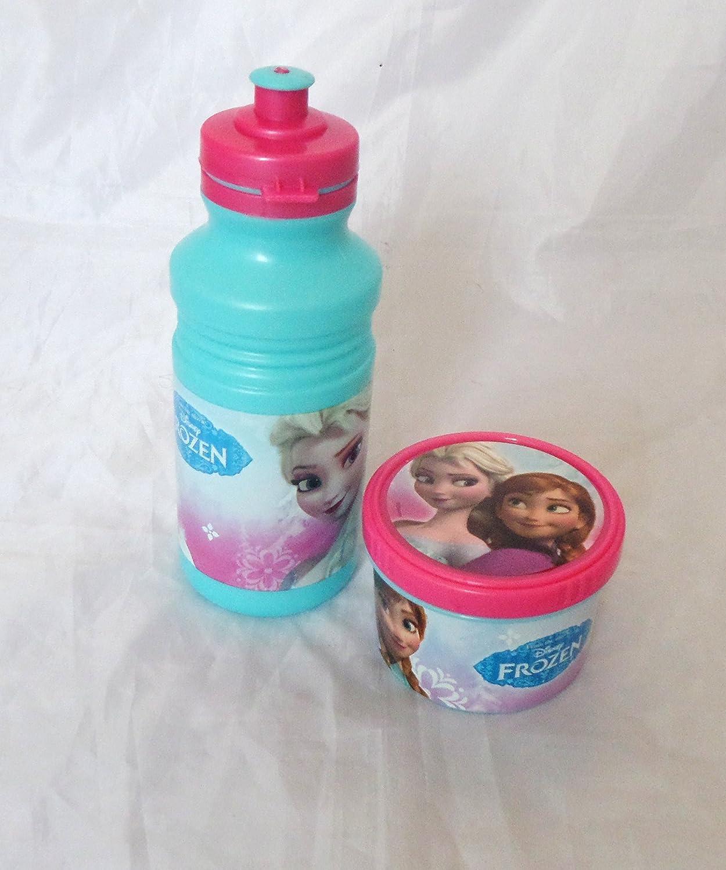 Disney Frozen Kinder Getränke Saft Wasser Flasche und Snack Pot ...