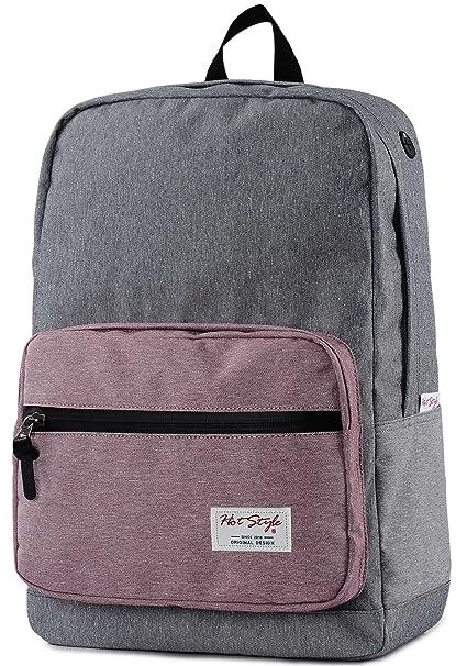 HotStyle 915s Mono mochila colegio 24L - Impermeable para portatil de 15-inch - Gris