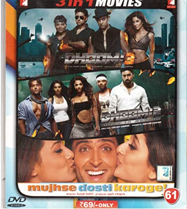 Amazonin Buy Dhoom 3 2 Mujse Dosti Karoge DVD Blu Ray Online At Best Prices In India