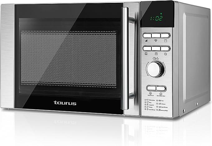 Taurus Luxus Tronic Microondas Digital, Inox: Amazon.es: Hogar