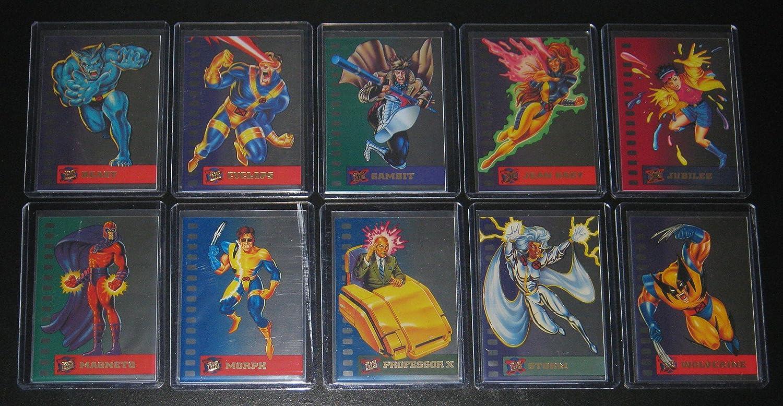 1994 Marvel Universe Serie 5 animación suspendida insertar 10 Set Tarjeta Wolverine!