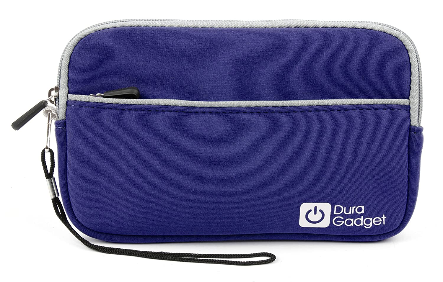 DURAGADGET Blue 7' Water & Scratch-Resistant Neoprene Case - Suitable for The SEGA Ultimate | Master Portable Game Player