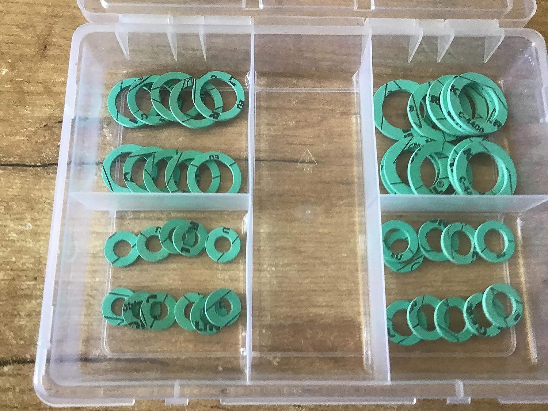 Juego de juntas planas para sanitarios 41 piezas 3//8-1 KLINGERSIL C-4400