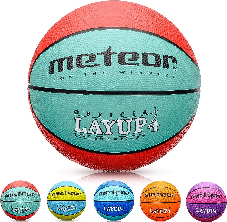 meteor Balón Baloncesto Talla 4 Pelota Basketball Bebe Ball ...