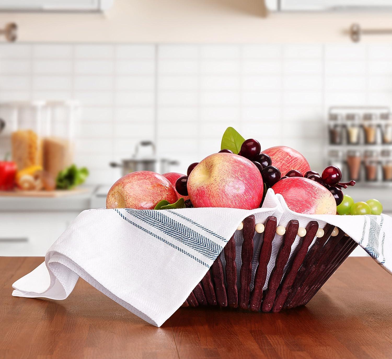 Utopia Towels - Paño de Cocina (12 Piezas) Lavable a máquina de algodón Cocina Blanca Paños de Cocina Toallas de té Toallas (38 x 64 cm) (Azul): Amazon.es: ...