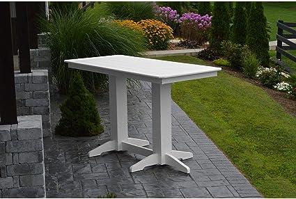 Amazon.com: A & L Furniture - Mesa de bar de plástico ...