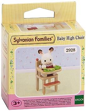 sylvanian families 2928 poupes et accessoires chaise haute pour bb sylvanian - Table De Salle A Manger Industriel2928