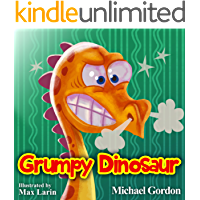 Grumpy Dinosaur: (Childrens books about Anger, Picture Books, Preschool Books, Books Ages 3-5, Baby Books, Kids Book, Kindergarten Books)