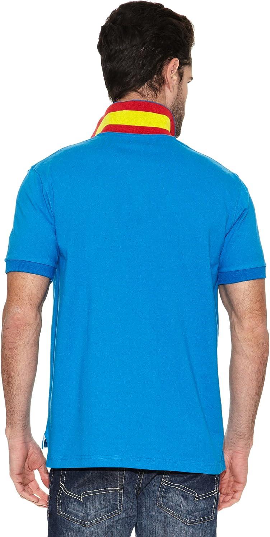 TORO Polo Bandera España Azul Marino XL: Amazon.es: Ropa y accesorios