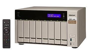 QNAP TVS-873 Ethernet Torre Oro NAS - Unidad Raid (Unidad de Disco ...