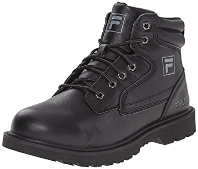e1c69703658 Fila Men's Landing Steel, Steel Toe Work Shoe