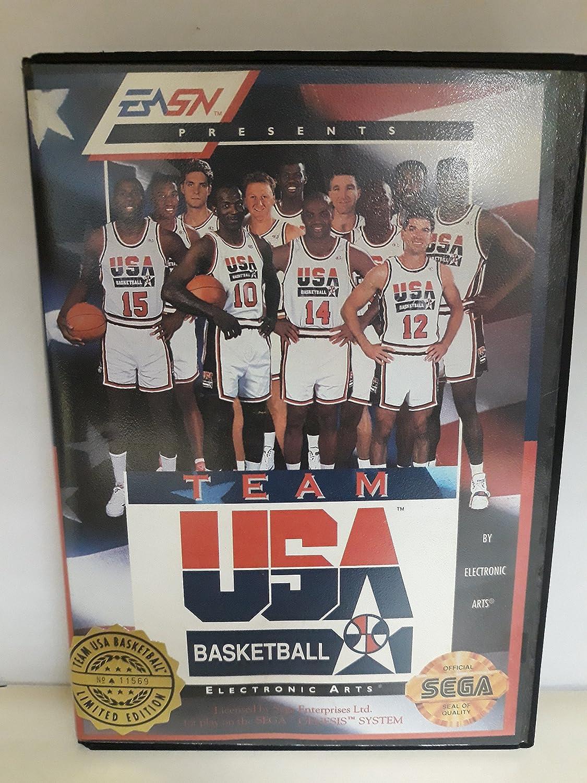 Team USA Basketball - Sega Genesis