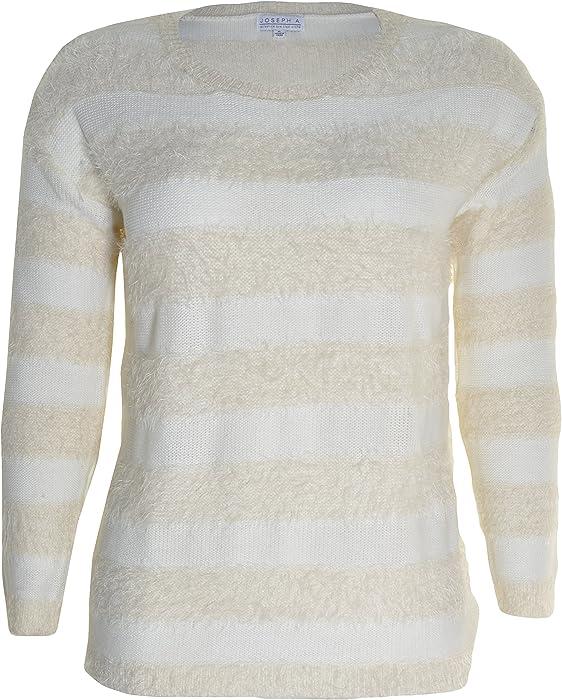 8601f0a29b Joseph A. Ladies  Eyelash Sweater