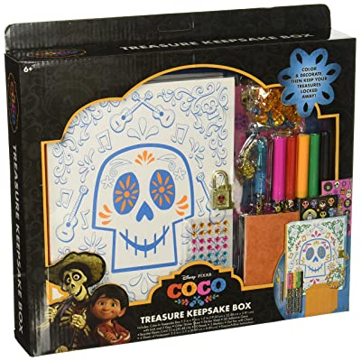 Disney Pixar Coco Treasure Keepsake Box Collectibles: Toys & Games