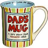 "Our Name is Mud ""Dad's Mug"" Stoneware Mug, 16 oz."