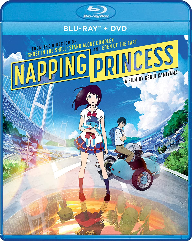 Napping Princess [Blu-ray] (Sous-titres français) Yôsuke Eguch Mitsuki Takahata Shinnosuke Mitsushima Shout Factory