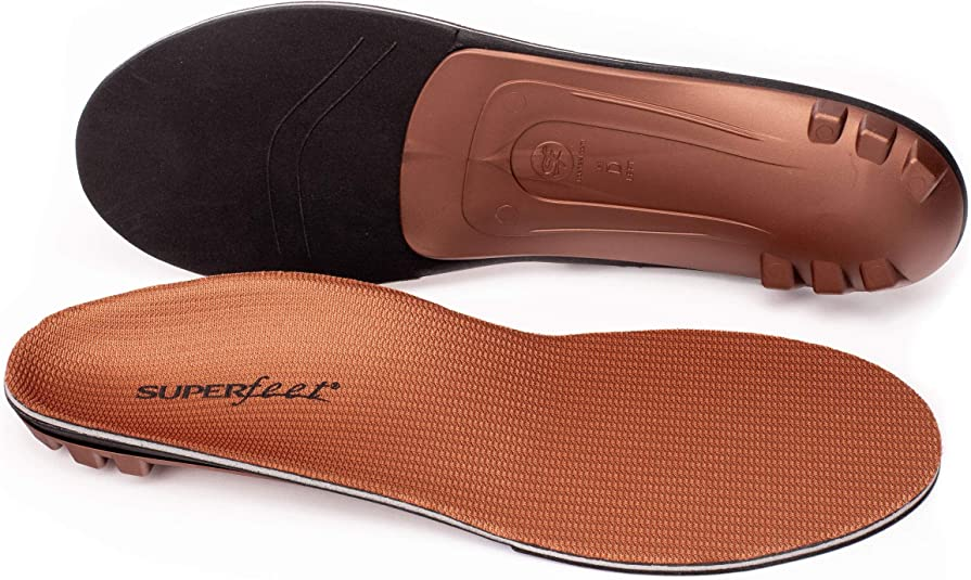 Superfeet COPPER Comfort Plus Replacement Insoles