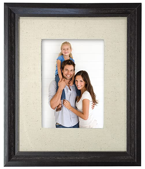 Amazon.com - MCS Industries Solid Wood Frame, 8x10-inch Matted To ...