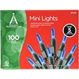 NOMA/INLITEN-IMPORT 4004-88A HW 100ct Blue Light Set