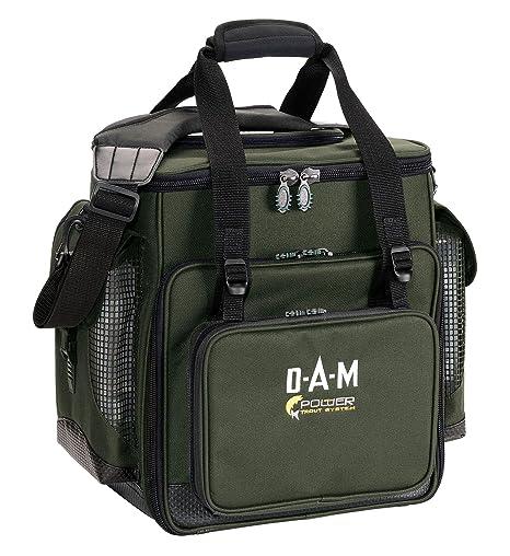 8351012 DAM PTS Kompakte Forellentasche 45 X 30 X 25 Cm mit 3 Boxen