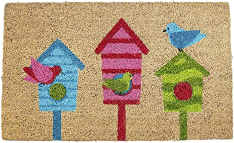 Bird House Doormat