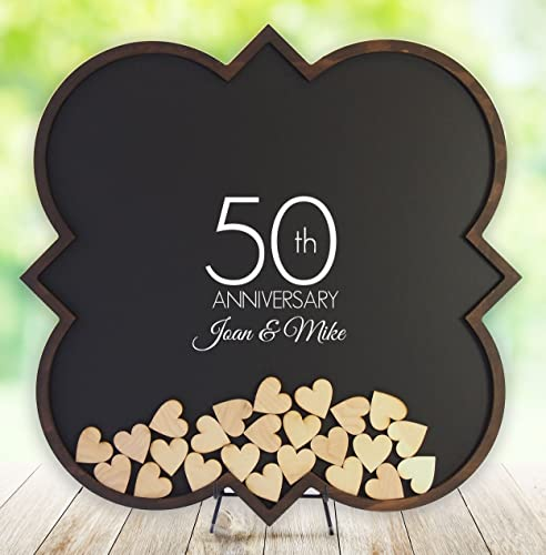 amazon com 50th anniversary gifts 50th anniversary guest book