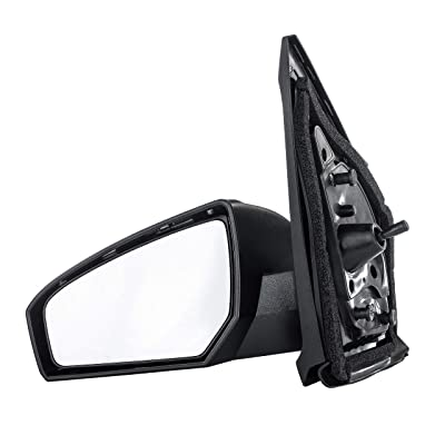 Driver Side Mirror for Nissan Altima Sedan (2013 2014 2015 2016 2020) Left Outside Rear View Unpainted Power Operated Non-Heated Non-Folding Replacement Door Mirror - NI1320223: Automotive