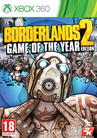 Borderlands 2 Game of the Year Edition (Xbox 360): Amazon co