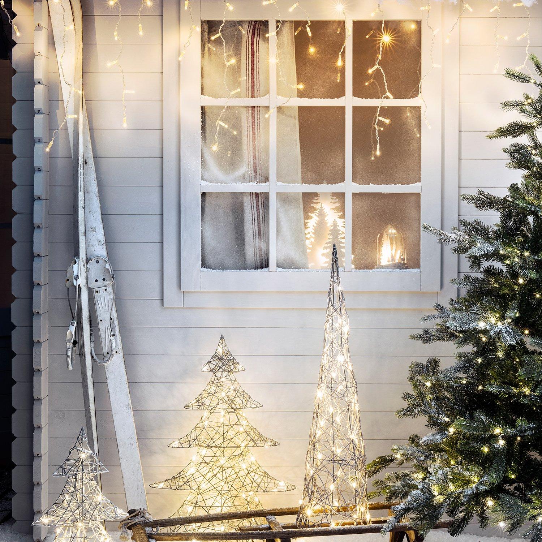 91kipeE1lmL._SL1500_ Schöne Led Eiszapfen Lichterkette Mit Schneefall Effekt Dekorationen