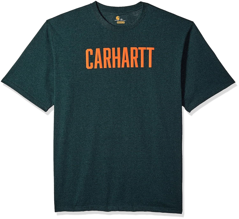 Carhartt SHIRT メンズ B075M5MWQV XXXX-Large|ハンター グリーンヘザー ハンター グリーンヘザー XXXX-Large