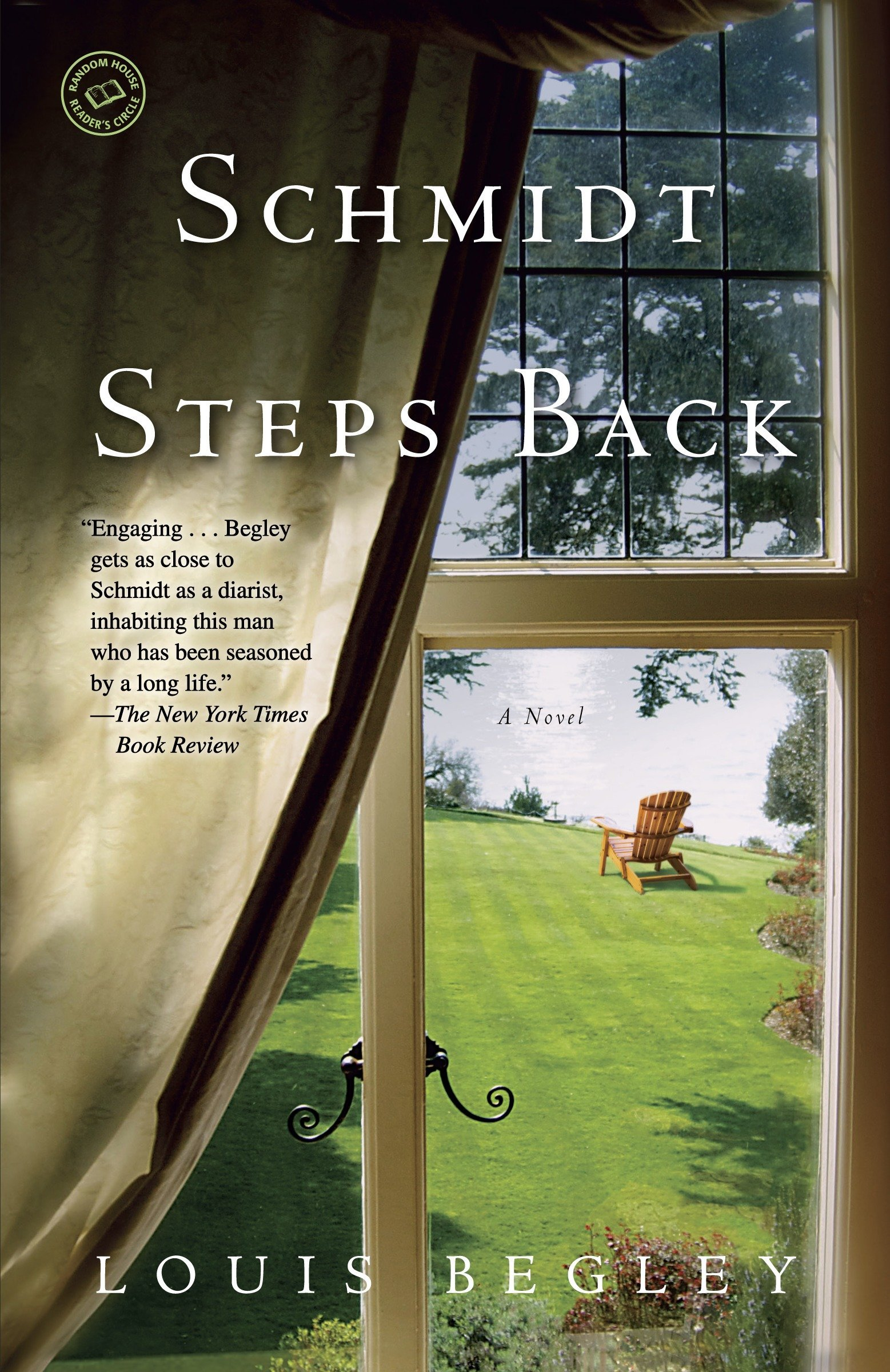 Amazon.com: Schmidt Steps Back: A Novel (9780345530530): Louis Begley: Books