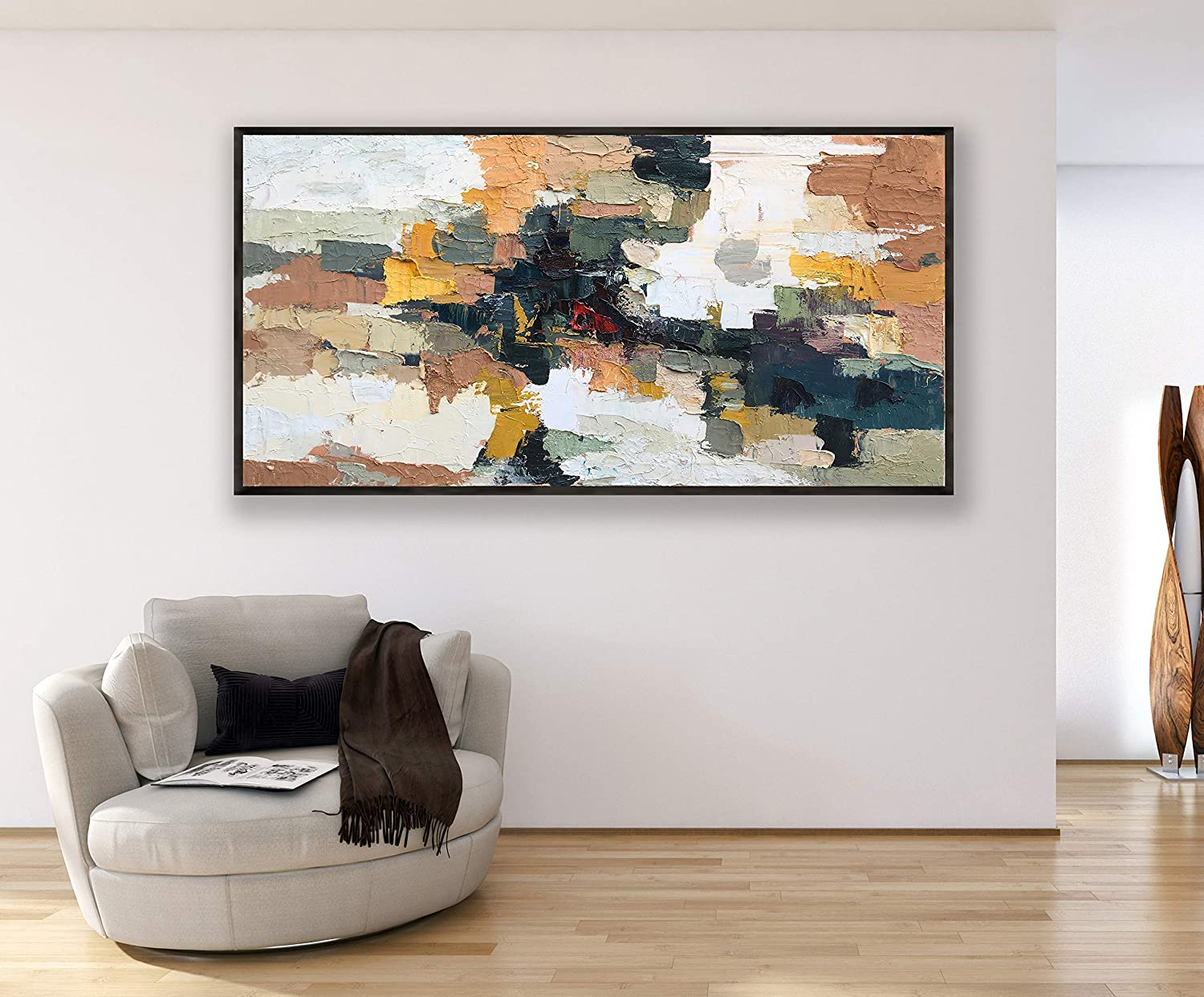 Outstanding Amazon Com Abstract Painting On Canvas 72 Original Download Free Architecture Designs Embacsunscenecom