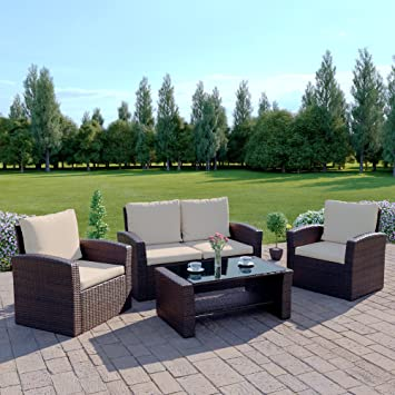 outdoor covers for garden furniture. brown rattan wicker weave garden furniture sofa set with outdoor cover covers for