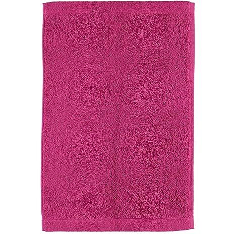 Toalla de mano de Cawö Life Style Uni 7007, 100% algodón, rosa,