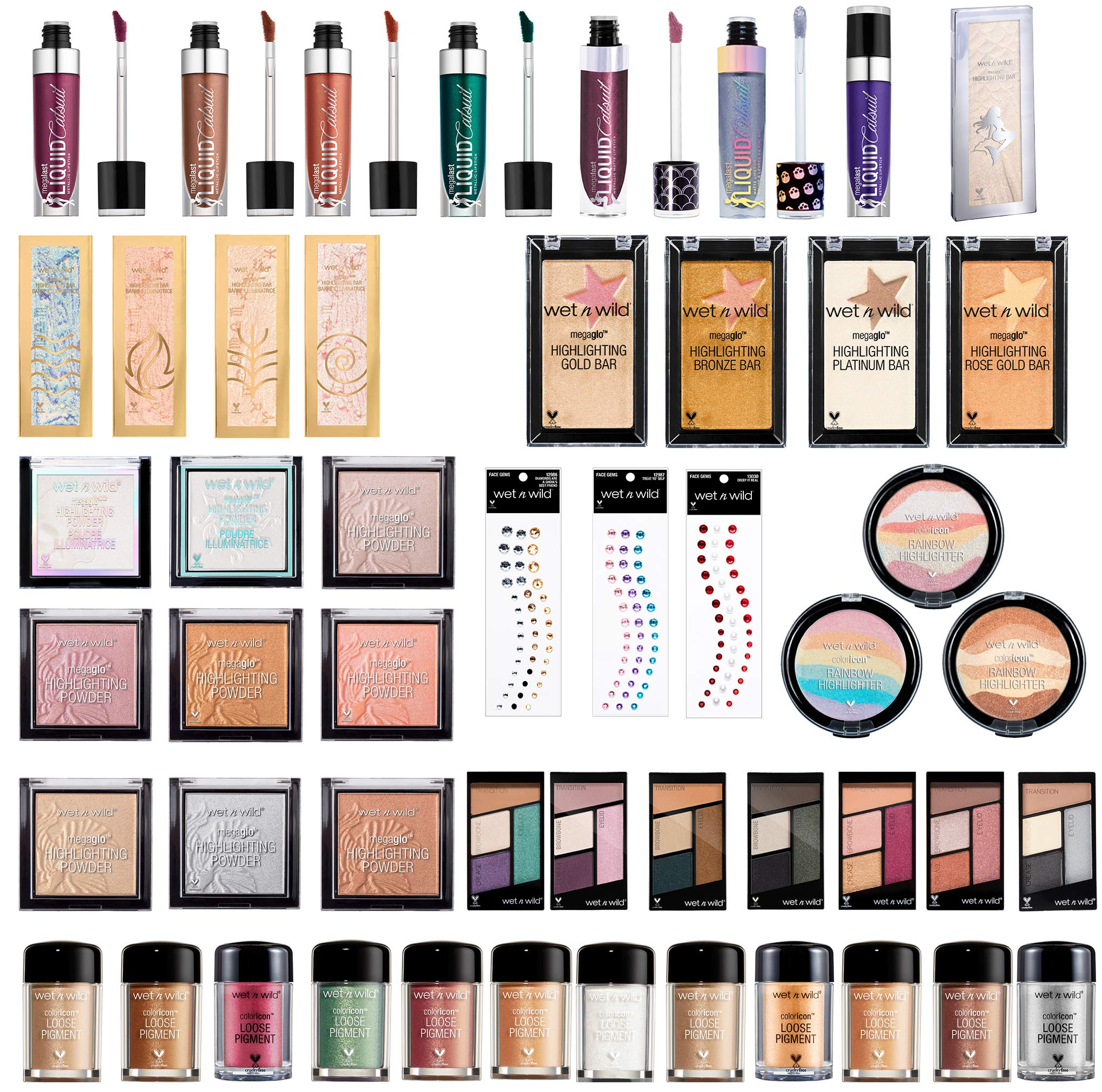 wet n wild Mystery Bundle (Blast from the Past Limited Edition Collection) Random Selection No Duplicates