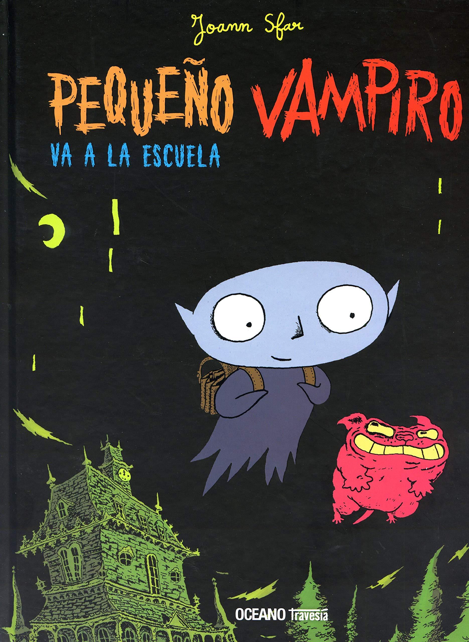 Pequeño Vampiro va a la escuela (Historietas): Amazon.es: Sfar ...