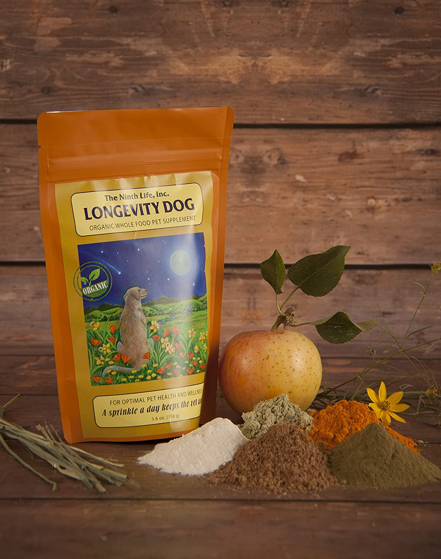 Organic Dog Vitamin Supplement Longevity Dog (5.6 oz.)