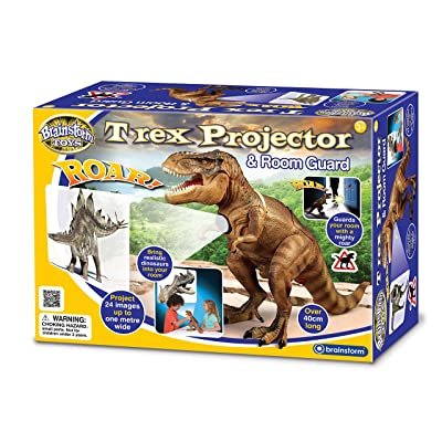 Brainstorm Toys T-Rex Projector and Room Guard: Toys & Games