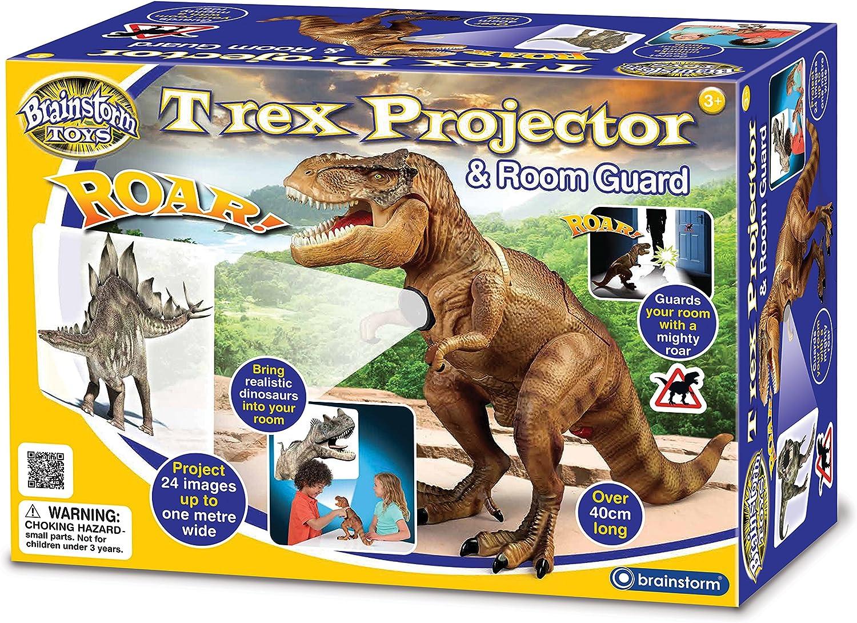 Brainstorm Toys T-Rex - Proyector y Protector de habitación ...