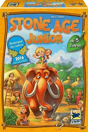Schmidt Spiele Stone Age Junior Simulación económica - Juego de Tablero (Simulación económica, 30 min, 5 año(s), Alemán, 225 mm, 70 mm): Amazon.es: Juguetes y juegos