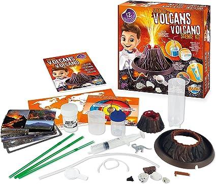 Buki France-La Ciencia de los Volcanes Juego, Multicolor (2124): Amazon.es: Juguetes y juegos