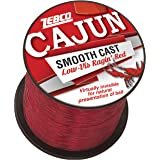 Cajun Line Zebco Cajun Low-Vis Fishing Line 1/4- Lb/Test Spool 10 Lb/Test Low-Viz Ragin Red, 10 lb