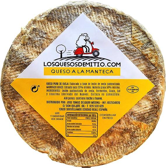 Queso de oveja a la manteca gourmet, con caja de madera premium ...